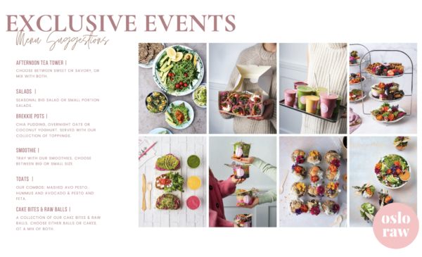 Catering & Events EXCLUSIVE